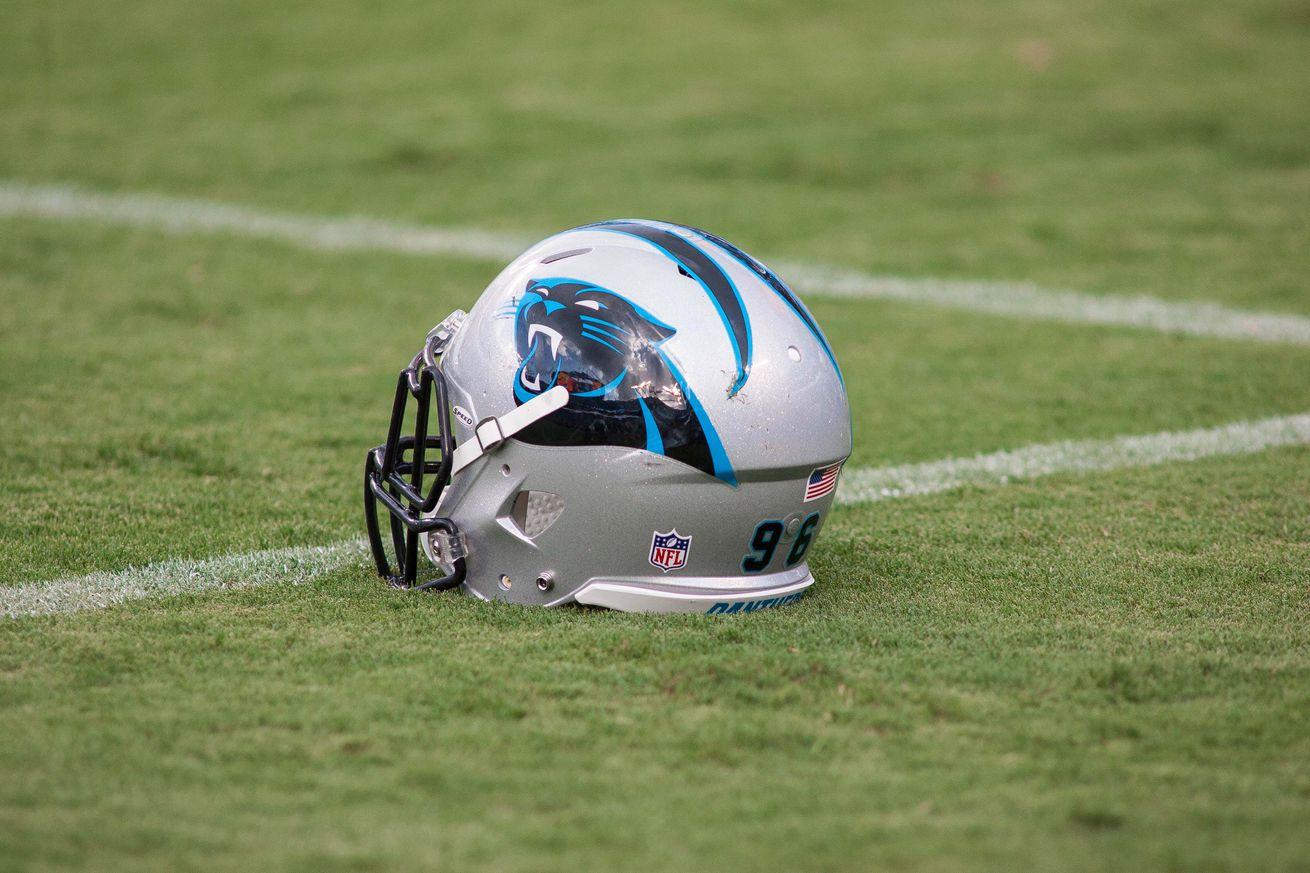 WOMEN Carolina Panthers Avius Capers Jerseys