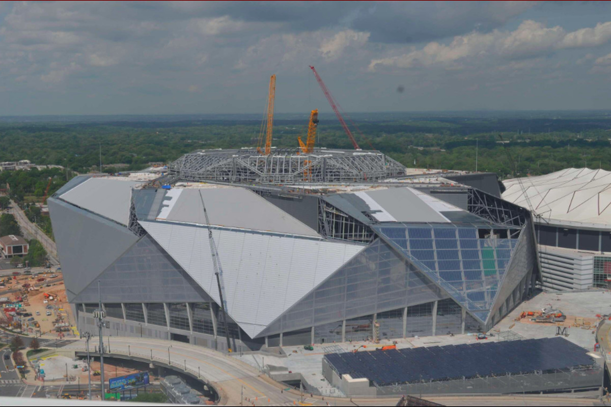 Mercedes Benz Dome Today