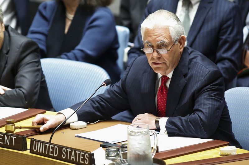 Rex Tillerson Chairs UN Security Council Meeting On Nonproliferation Of North Korea