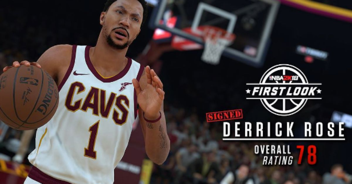 size 40 5fda3 a6072 Here's what Derrick Rose will look like in NBA 2K18 - Fear ...