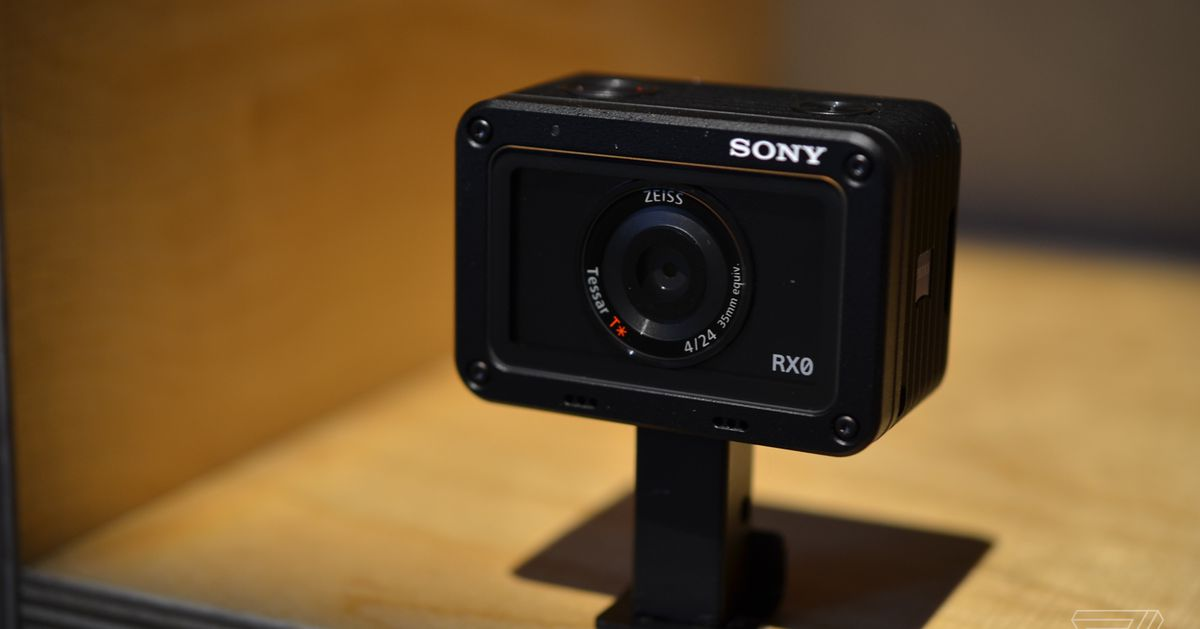 RX0: Sony\'s latest competitor to the GoPro - The Verge
