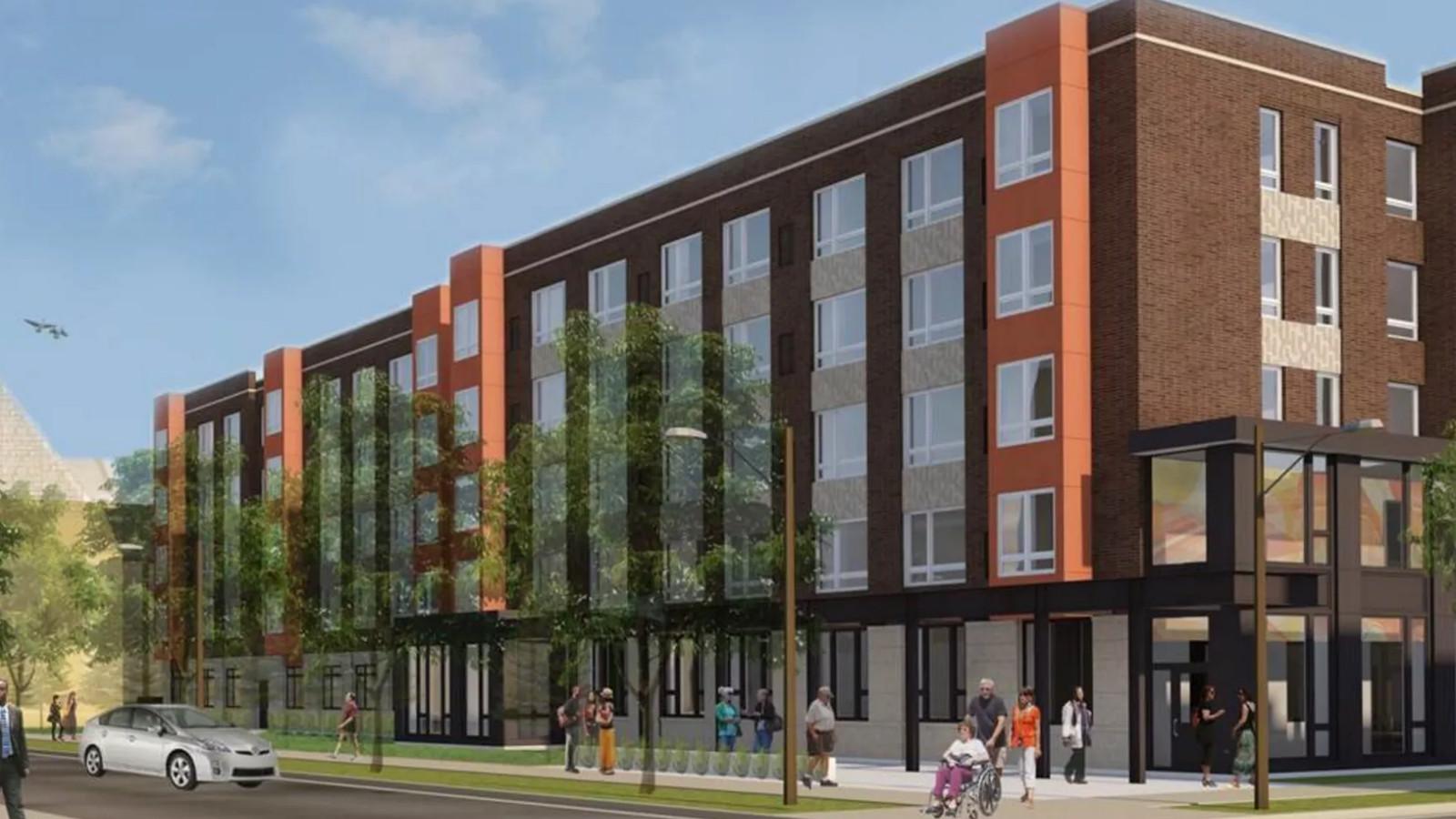 Affordable senior housing development breaks ground on ...