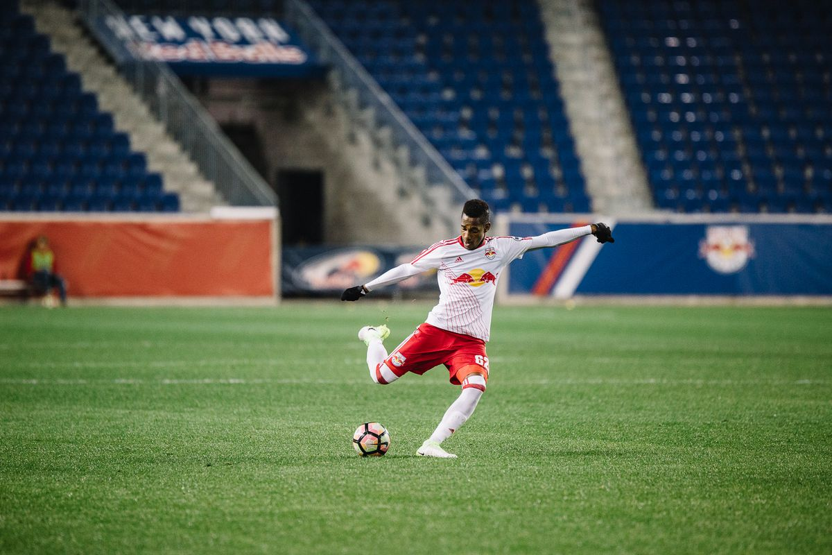 photo essay michael amir murillo s first competitive game as a he might prefer to forget it but murillo s first competitive game since he joined rbny deserves acknowledgement