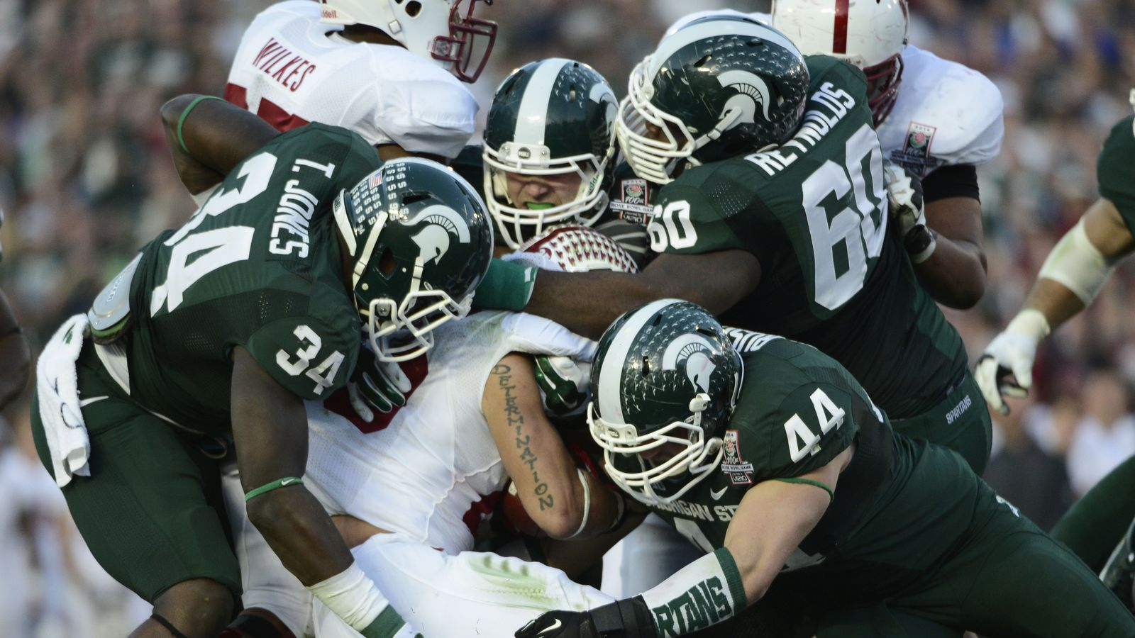 michigan state vs stanford 2014 rose bowl spartans are