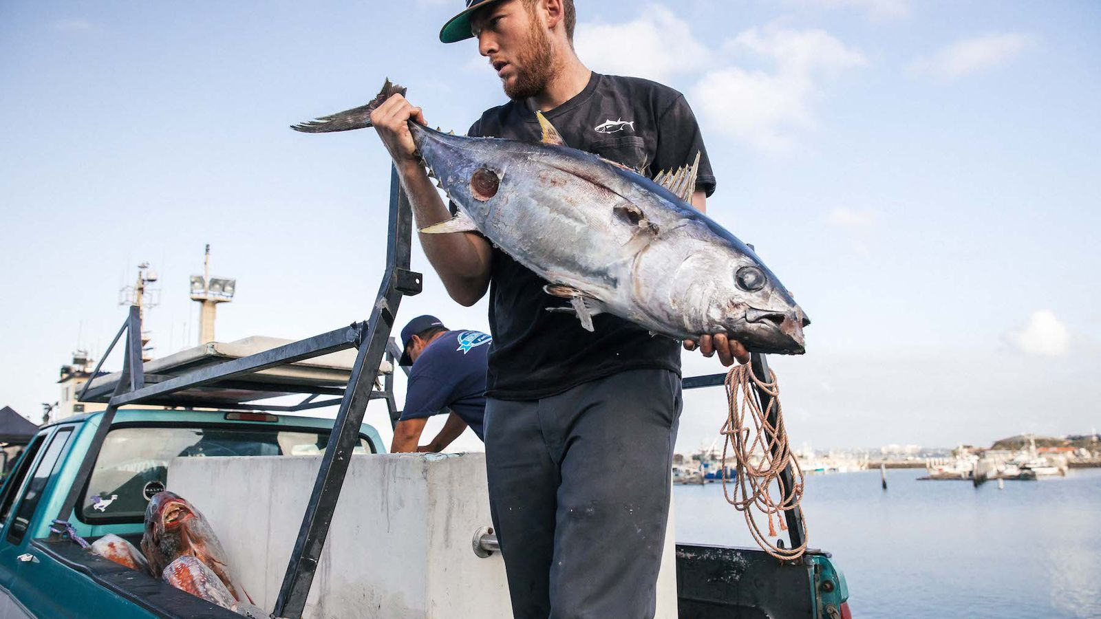 A rising tide san diego chefs celebrating local fishermen for Seattle fishing jobs
