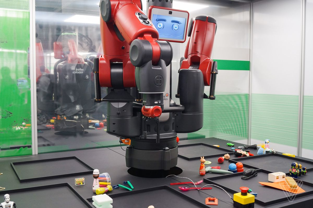 Robots like Baxter are being used in factories today alongside humans. It can learn tasks and adapt to its immediate environment.