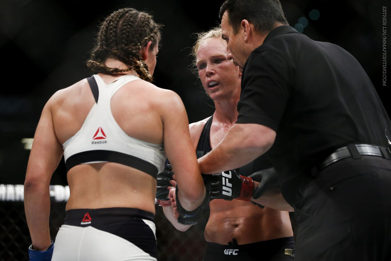 community news, Holly Holm says rematch with Miesha Tate made sense: It wasnt like she was just dominating me