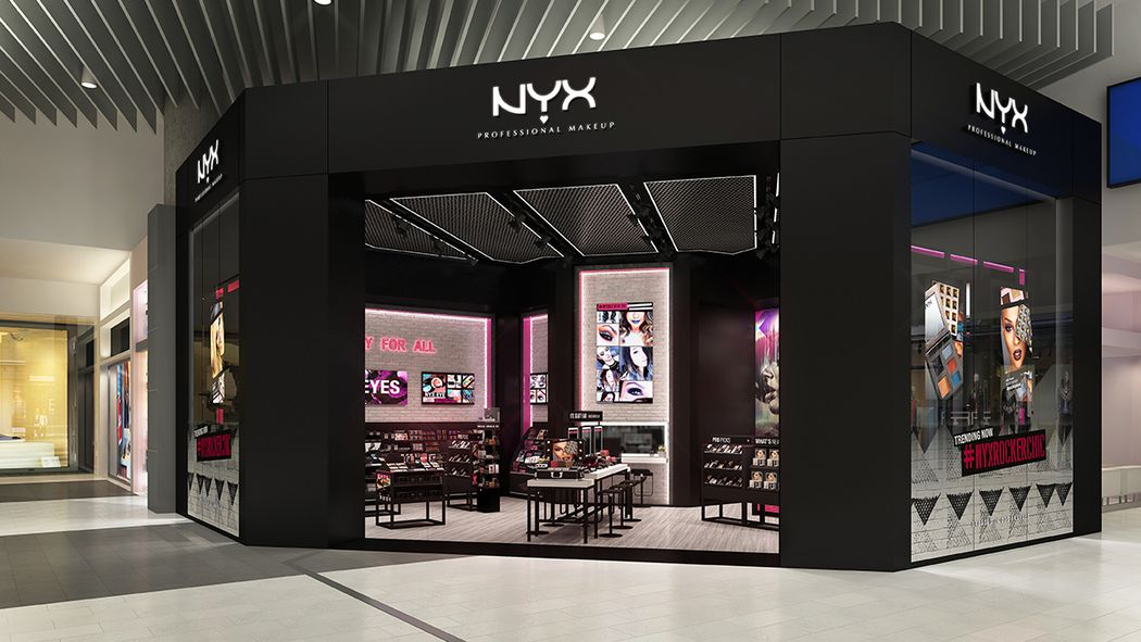 More On Nyx Cosmetics S First Beauty Boutique At Westfield