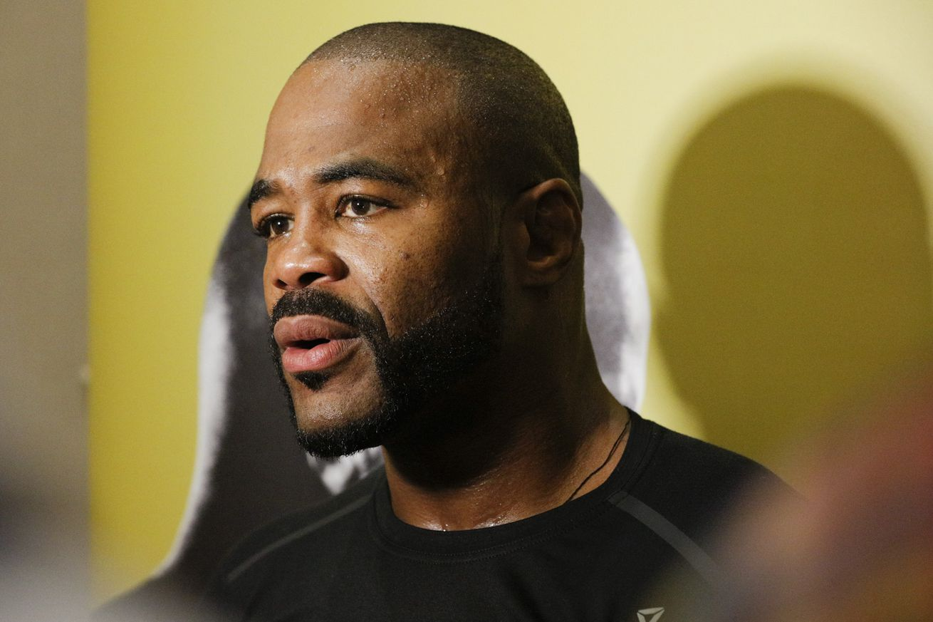community news, Rashad Evans says he's 'medically cleared' to fight, seeking March or April return
