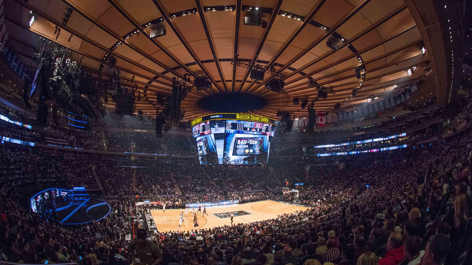 Watching Your Favorite Team Play At Madison Square Garden Is Special Mavs Moneyball