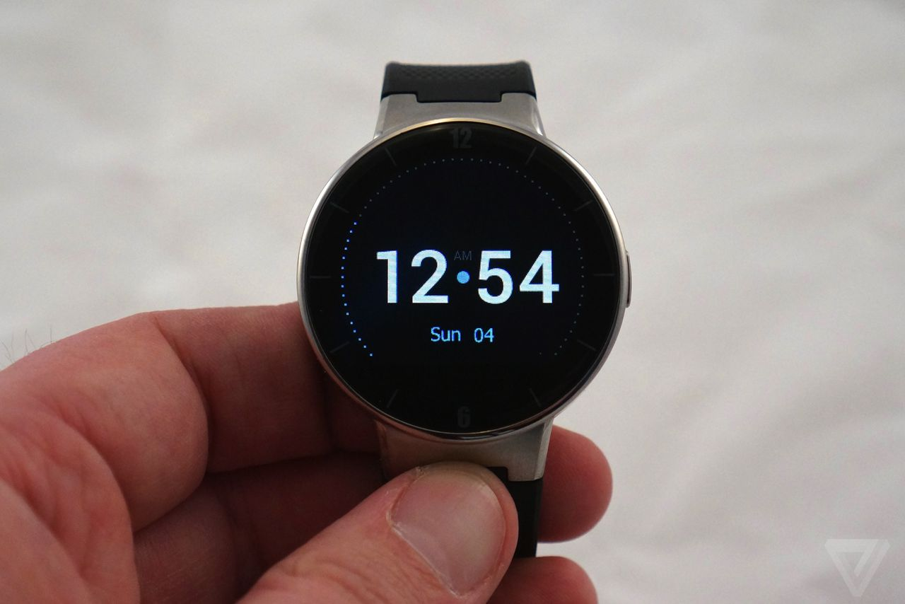 Alcatel's new smartwatch is a cheaper Moto 360 that works ...