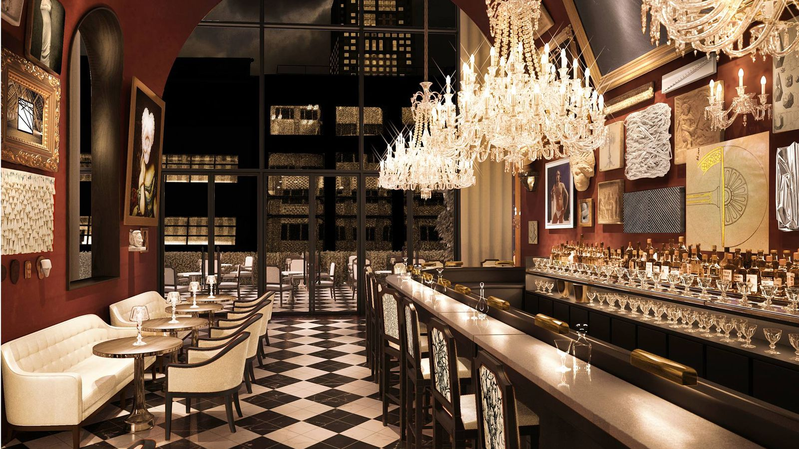 Opening Alert Sip Cocktails In The Crystal Clad Baccarat