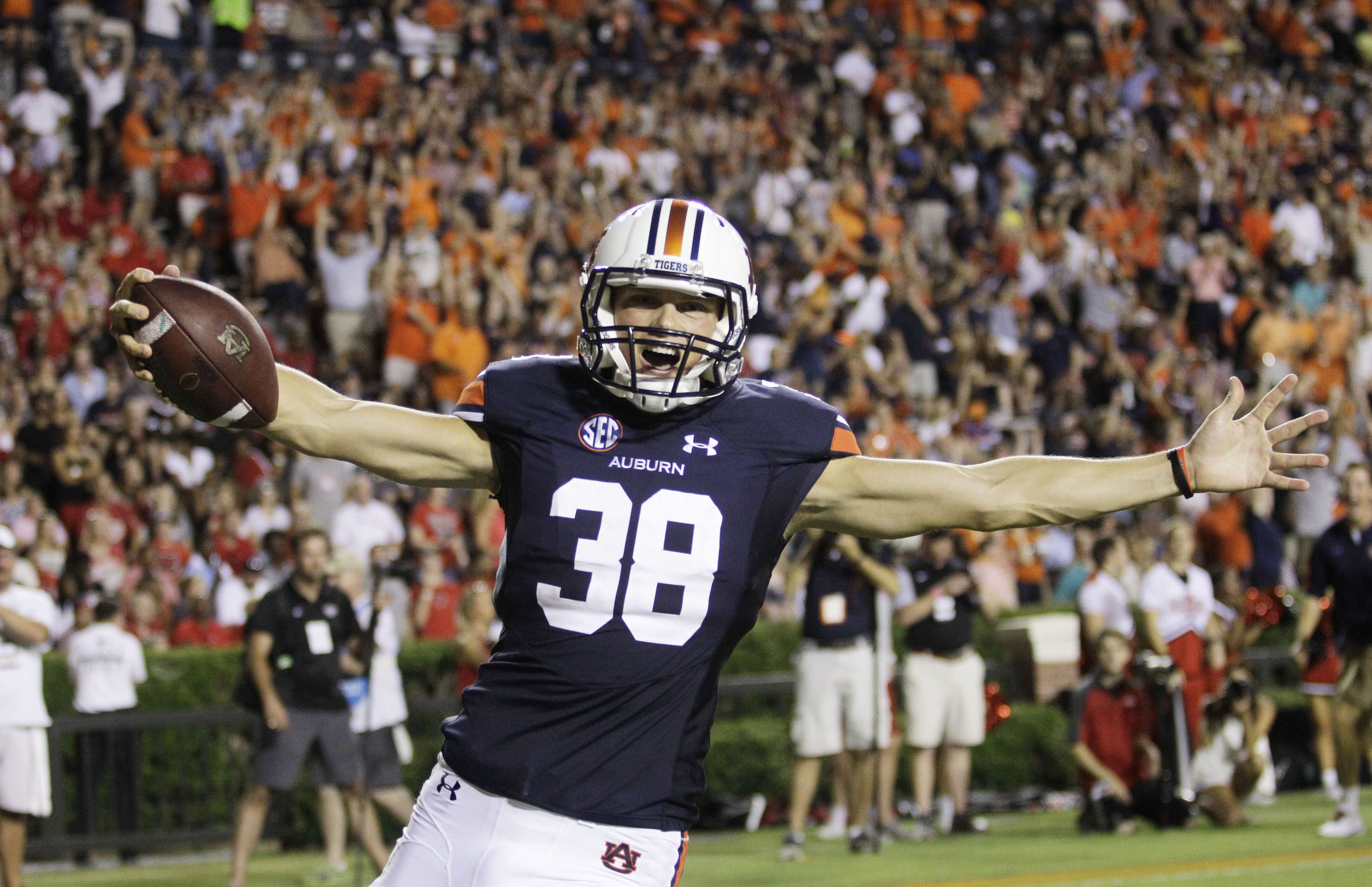 Realtime Auburn Tigers Football Schedule on SECSportscom