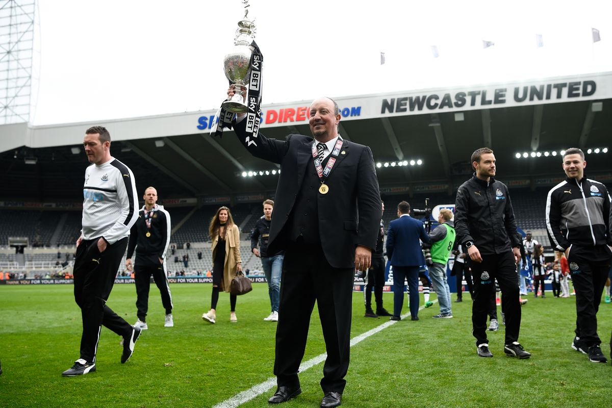Christian Atsu revels in Newcastle Championship win
