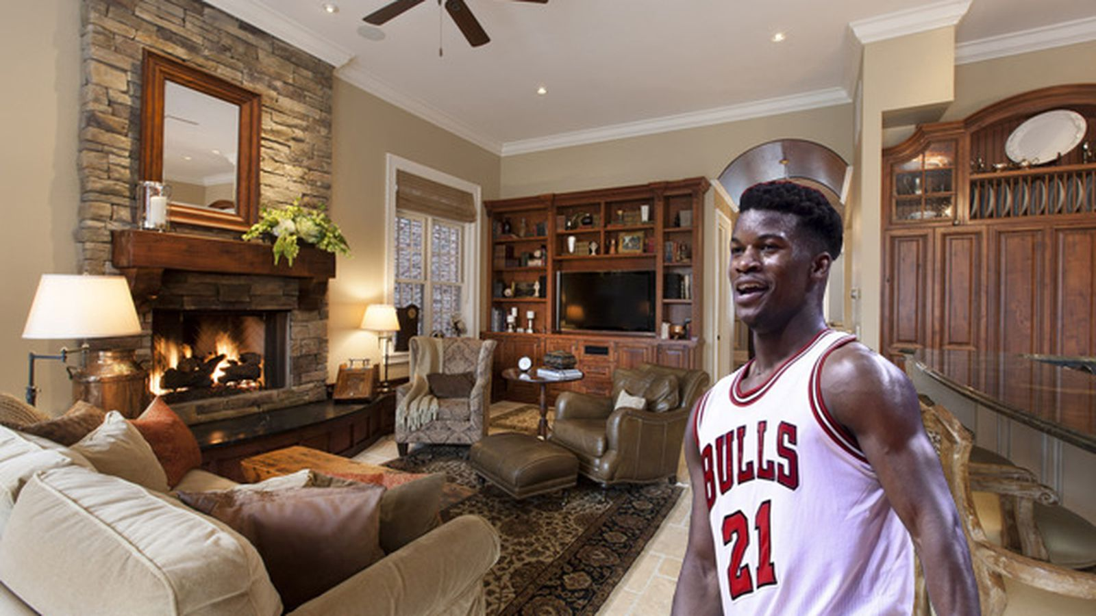 Chicago Bulls Guard Jimmy Butler Drops 4 3m On River