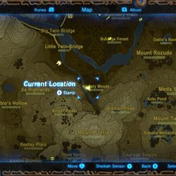Zelda: Breath of the Wild: Toto Sah shrine location and