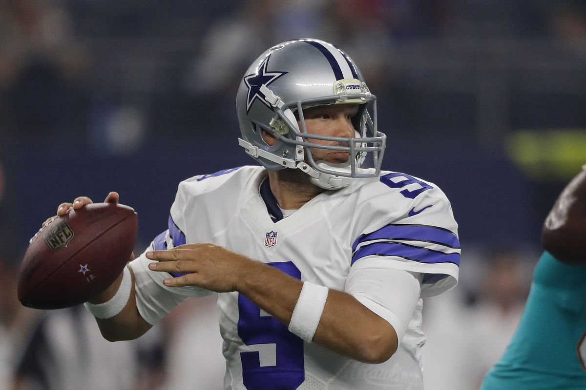 Cowboys plan to release QB Tony Romo, per reports