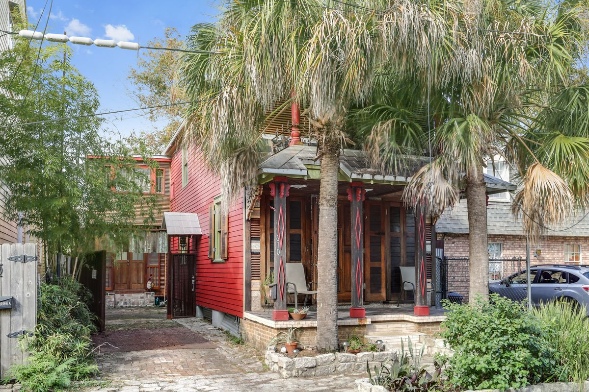 Eclectic Bywater home with custom wood design asks 599K