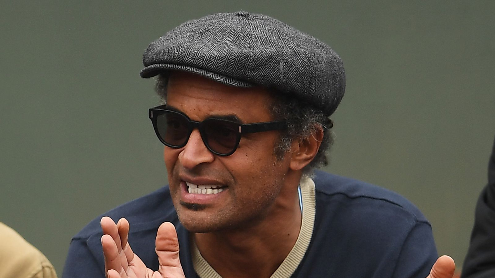 Tennis Legend Yannick Noah Is Hyped To Watch His Son