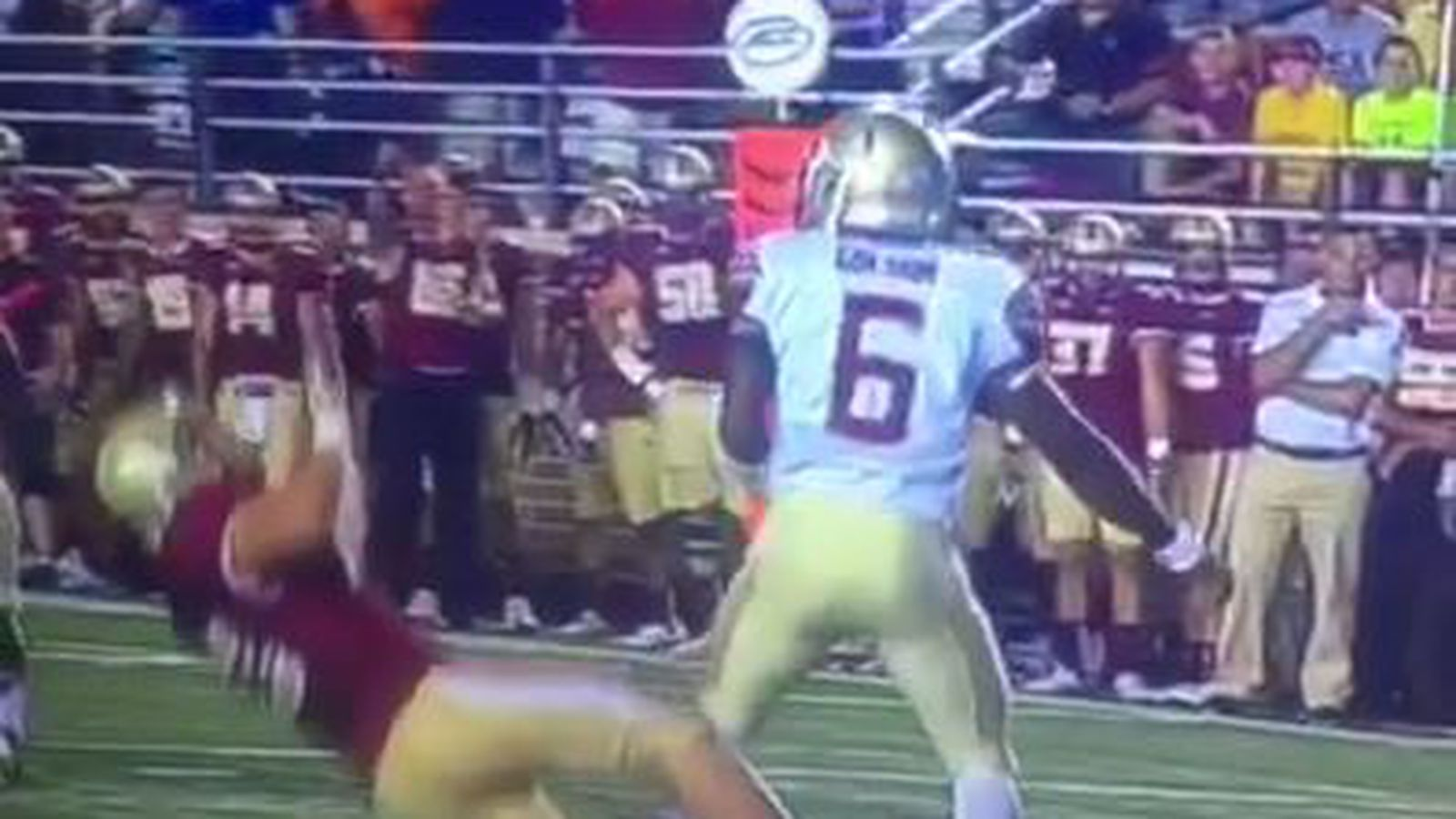 Florida State S 199 Pound Qb Just Flattened A Defensive