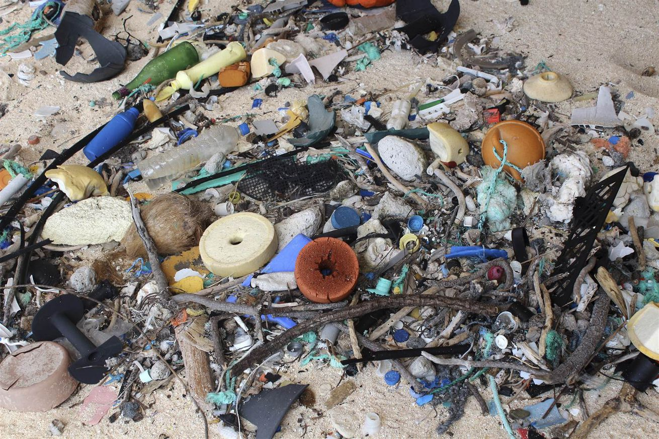 This Pacific island is covered in 38 million pieces of trash — mostly plastic