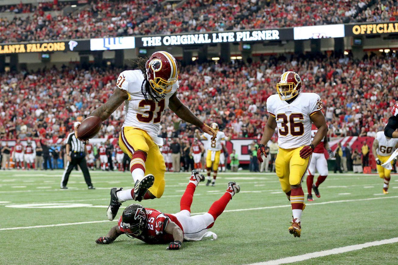 nfl Washington Redskins Matt Jones GAME Jerseys