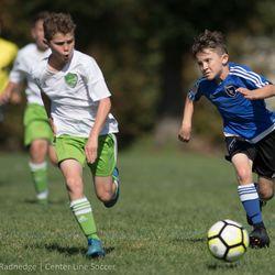 Quakes Academy U12 soccer.