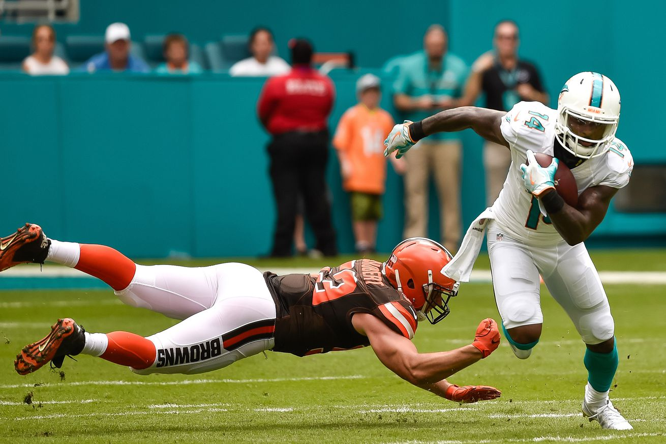 Browns at Dolphins final score: Dolphins escape in overtime with Ajayi walk-off