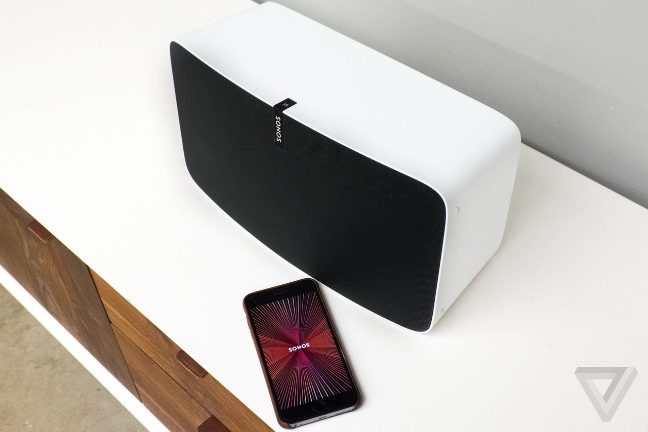 sonos play 5 how to play from phone