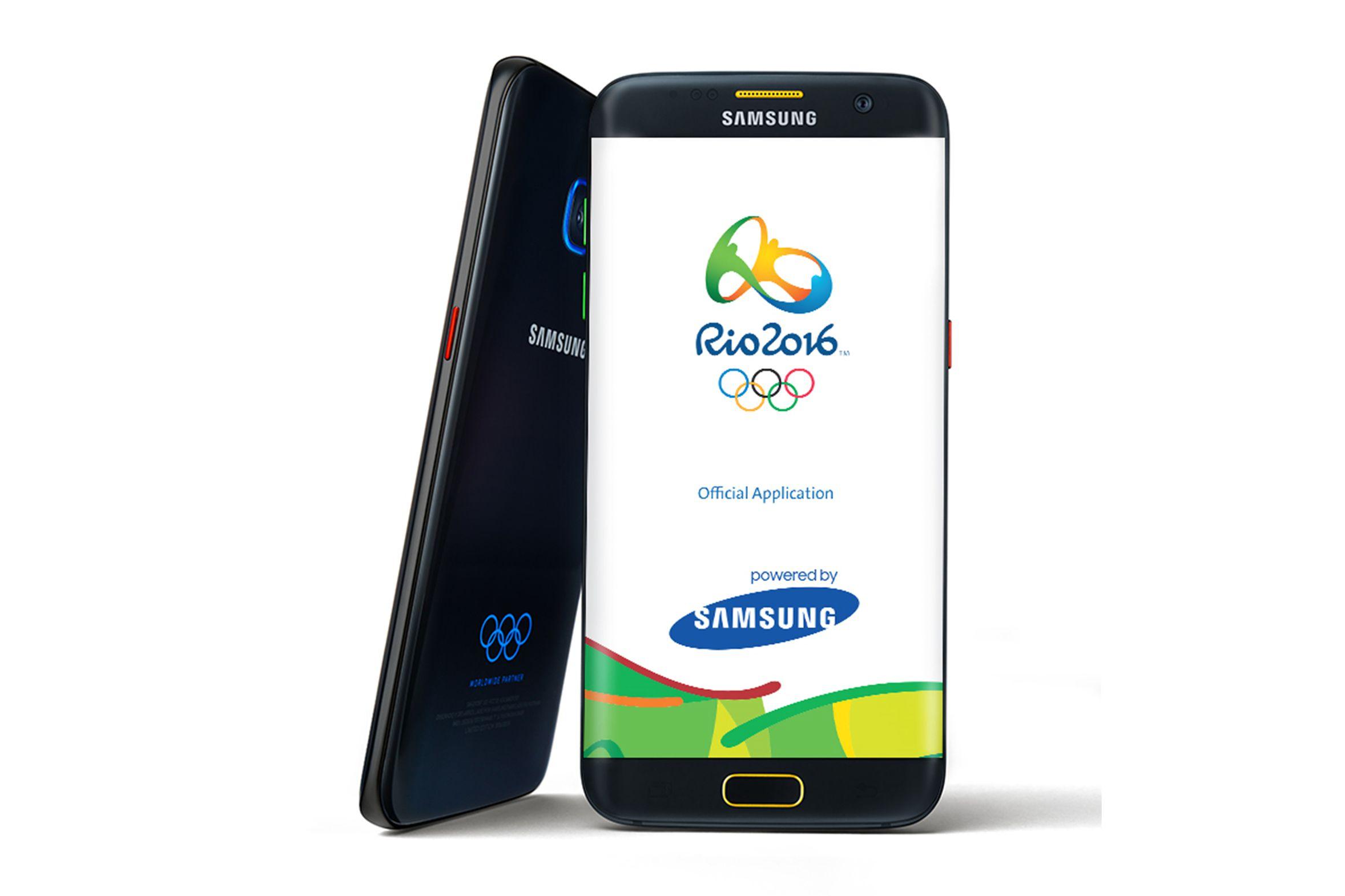 ស្មាតហ្វូន Galaxy S7 edge Olympic Games Limited Edition នឹងមានលក់នៅថ្ងៃទី18 ហើយ