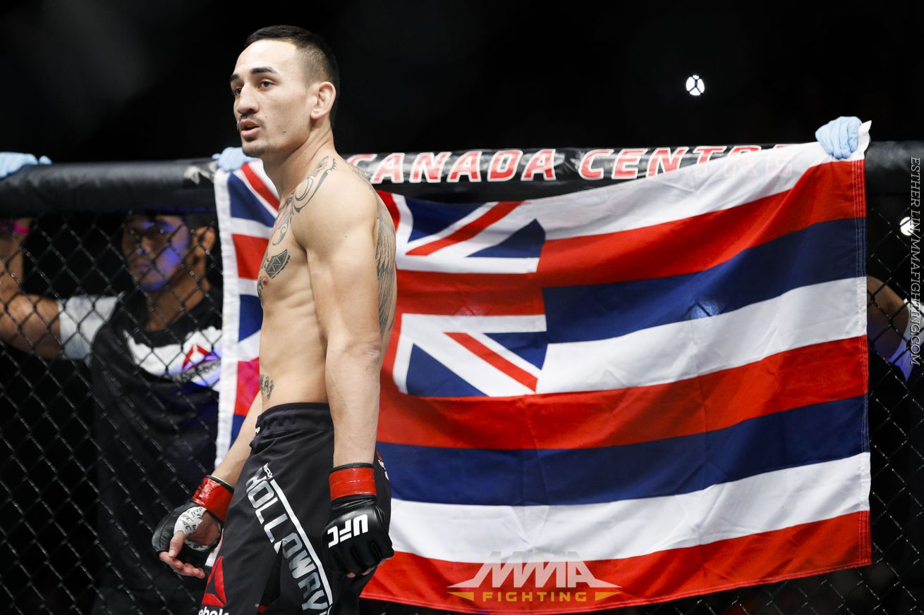Max Holloway isnt going to be one more guy on their knees begging for Conor McGregor