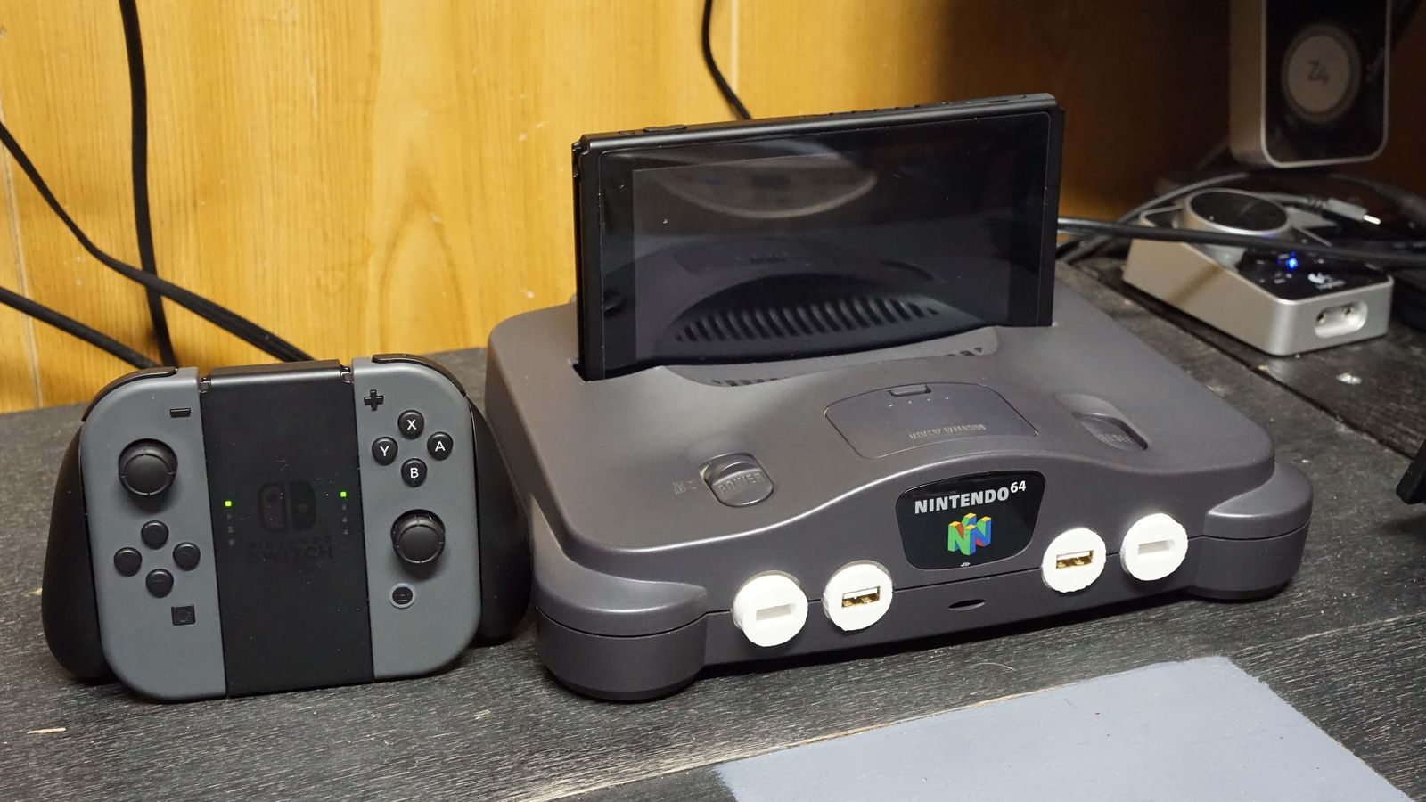 This Nintendo Switch dock mod is the ultimate nostalgia piece