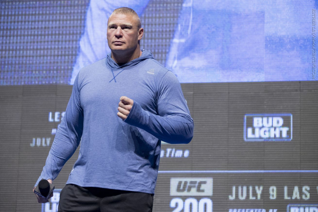 community news, Brock Lesnar notifies UFC of his retirement from MMA