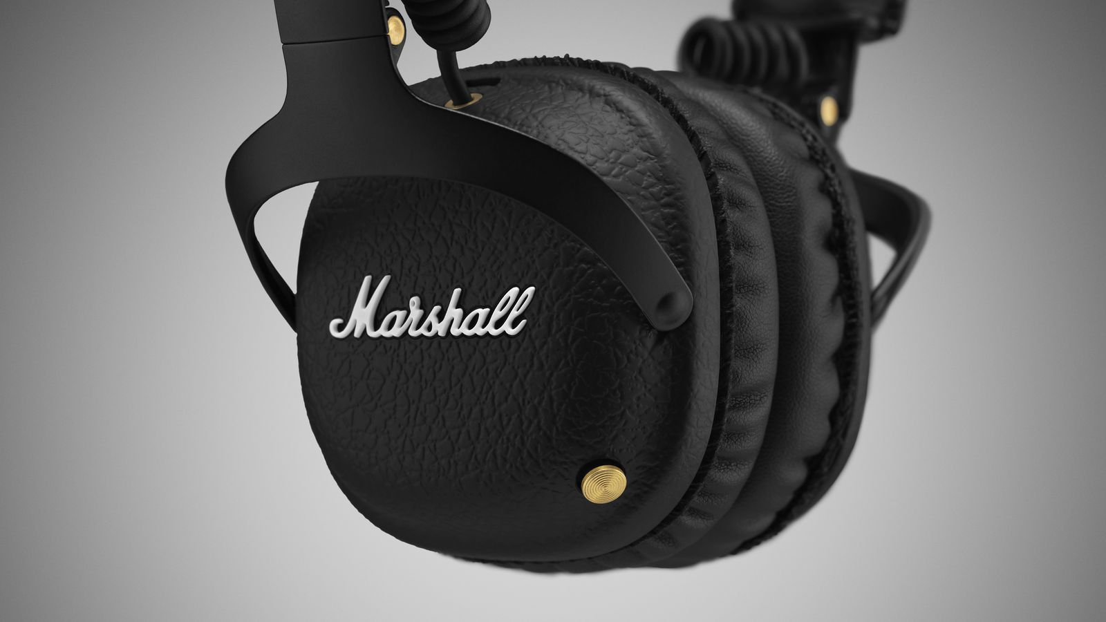 marshall mixes old and new with its latest bluetooth headphones the verge. Black Bedroom Furniture Sets. Home Design Ideas