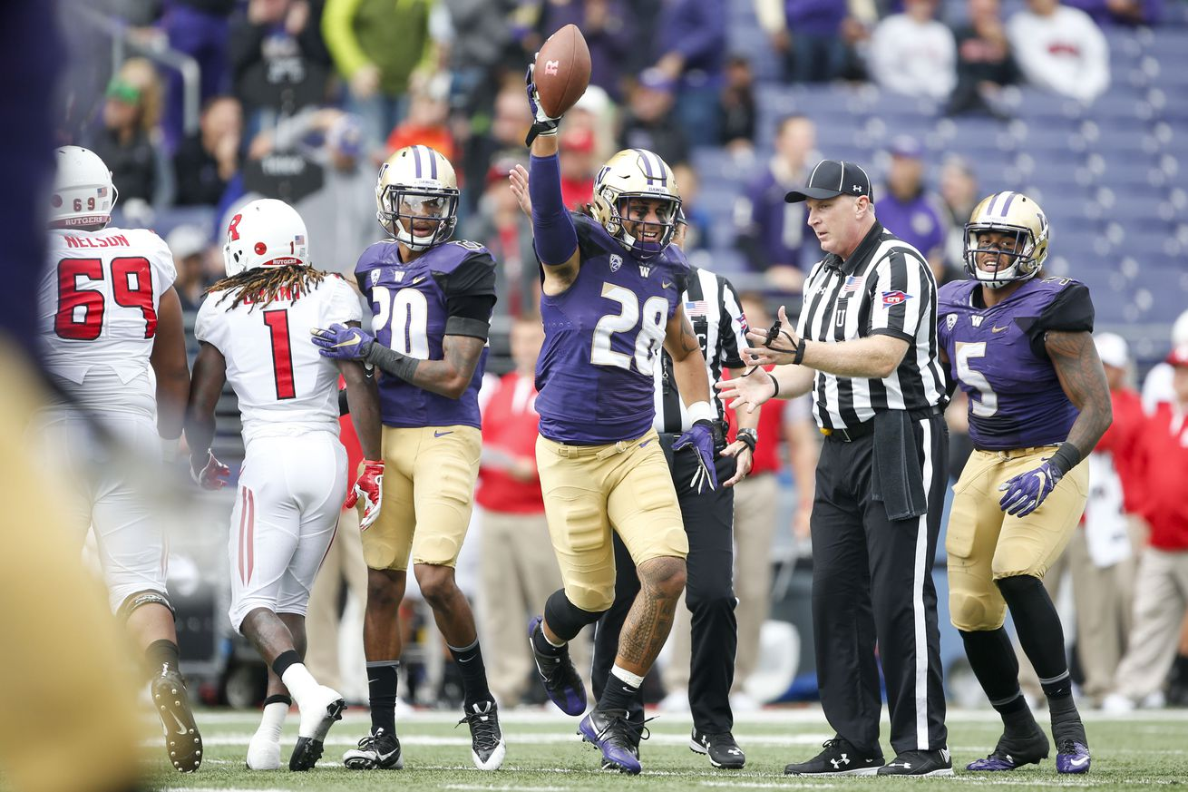 Browning throws 5 TDs passes, No. 8 Washington beats Idaho