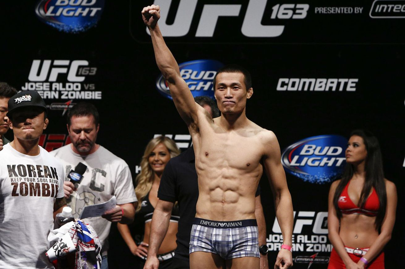 community news, UFC Fight Night 104: Win or lose, Chan Sung Jung will fight like the old Korean Zombie