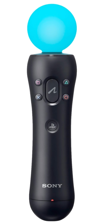 PlayStation Move controller (alpha PNG)
