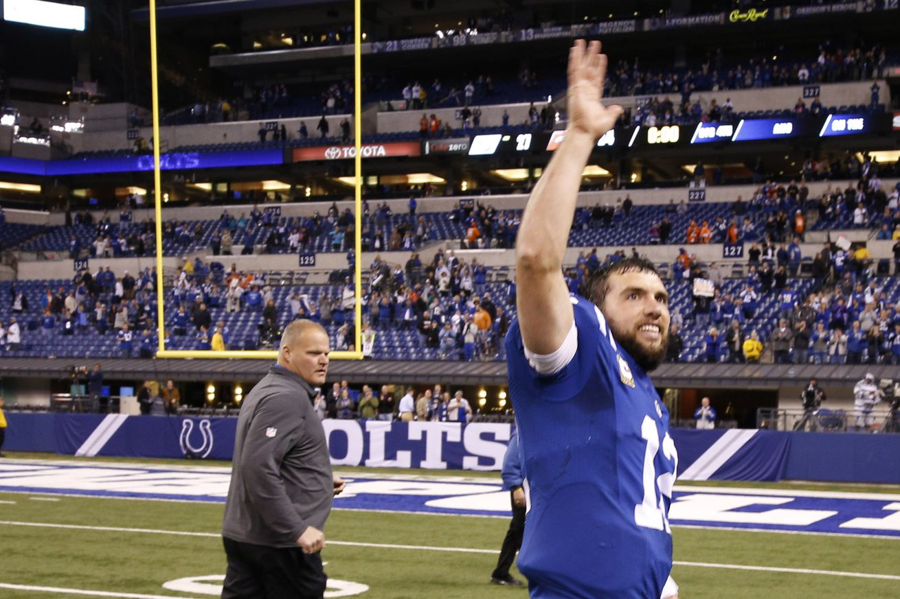 NFL Jerseys Cheap - Colts QB Andrew Luck highly unlikely to play against Atlanta ...