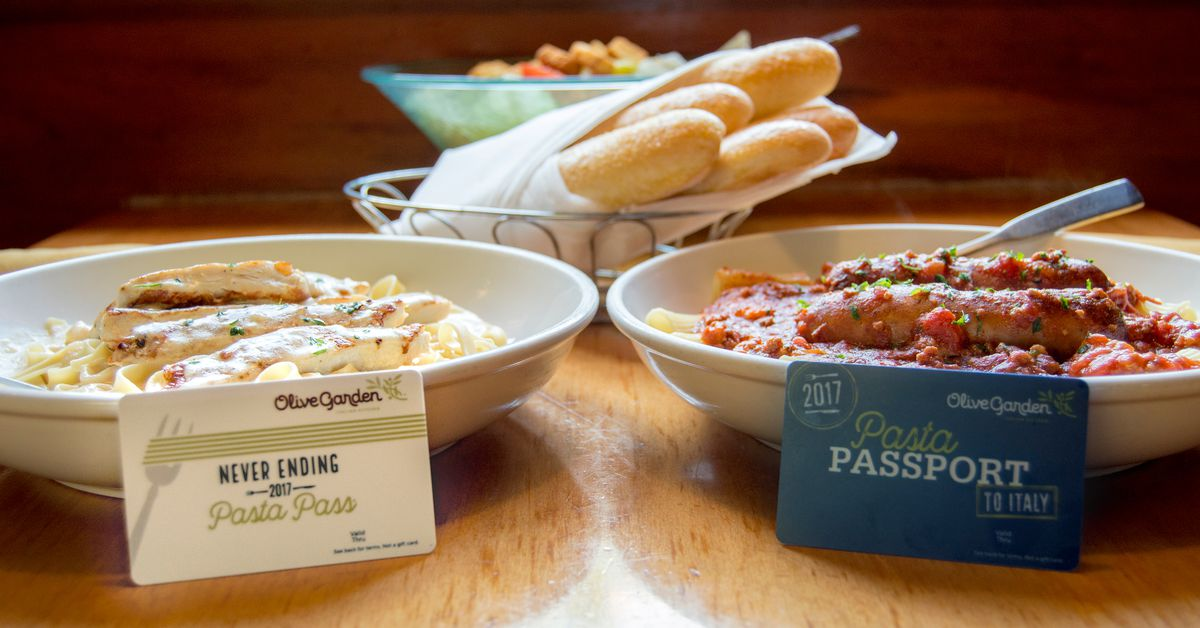 Olive Garden S Never Ending Pasta Pass Sold Out In One