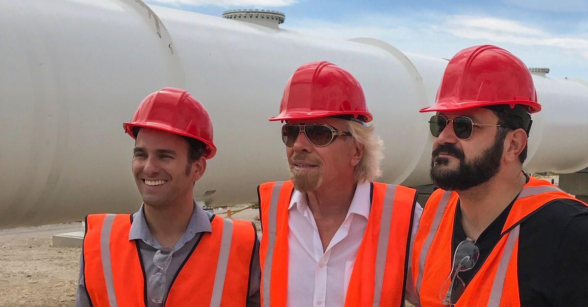 photo image Hyperloop One rebrands as 'Virgin Hyperloop One' after investment by Richard Branson