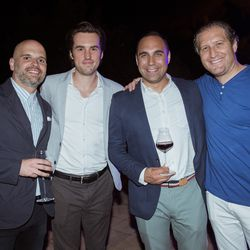 From left, Armando Turco (GM, Vox Creative), Ryan Pauley (GM, Concert & VP, Revenue Operations, Vox Media), Mike Hadgis (SVP, Head of Global Revenue & Partnerships, Vox Media), Josh Feller (Outbrain)