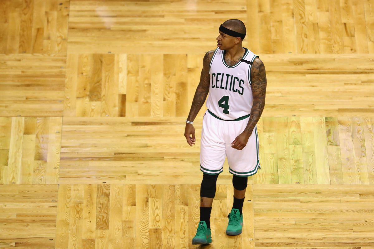 Celtics star Isaiah Thomas done for playoffs with hip injury