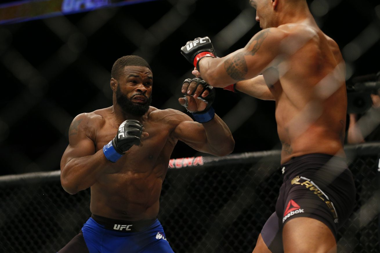 Tyron Woodley insists his quest for superfights is more about legacy than dollars