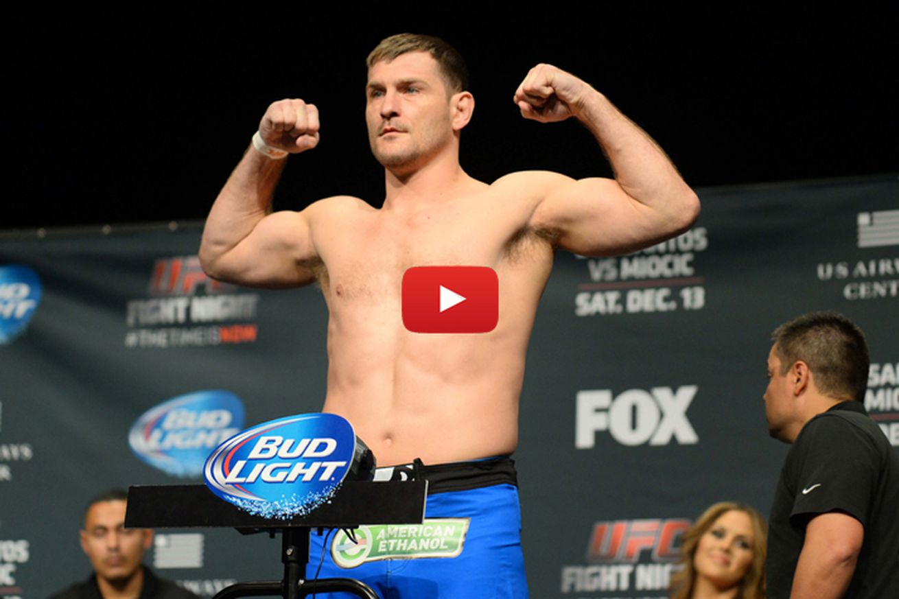UFC 198 weigh in video, start time, and results for Werdum vs Miocic in Brazil