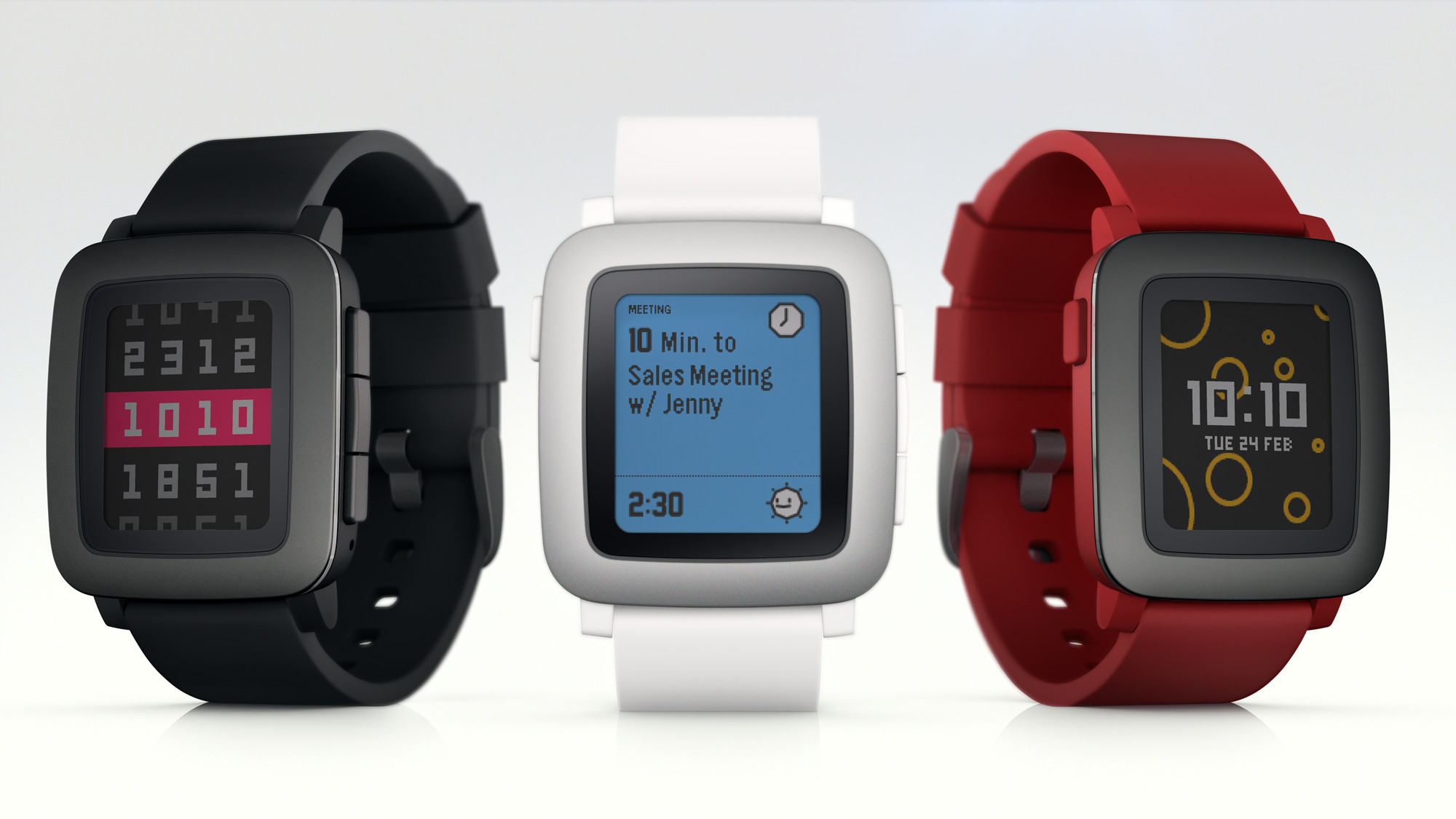 Pebble launches new smartwatch exclusively on Kickstarter ...