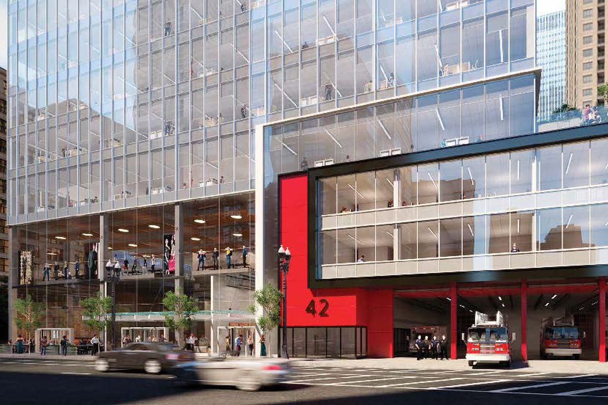river north fire station to be rebuilt  joined by new