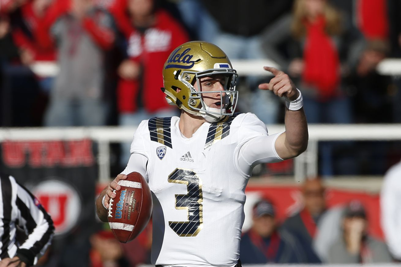 UCLA QB Rosen not concerned by crowd noise at Texas A&M