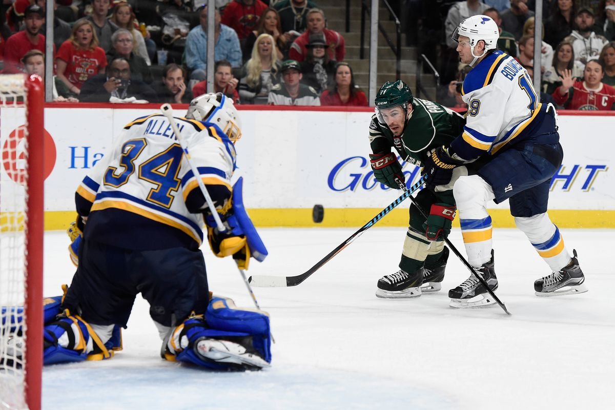 Dubnyk, Wild beat Blues 2-0 to avoid elimination