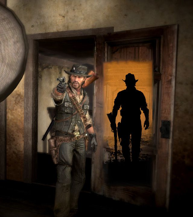 Red Dead Redemption teaser - John Marston comparison shot