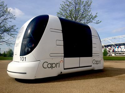 New automated vehicle trial in UK aims to develop smart shuttles